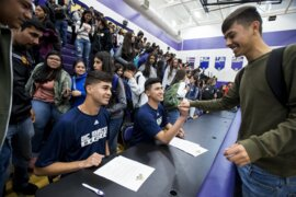 Livingston's Sobrevilla, Lopez sign with UC Merced