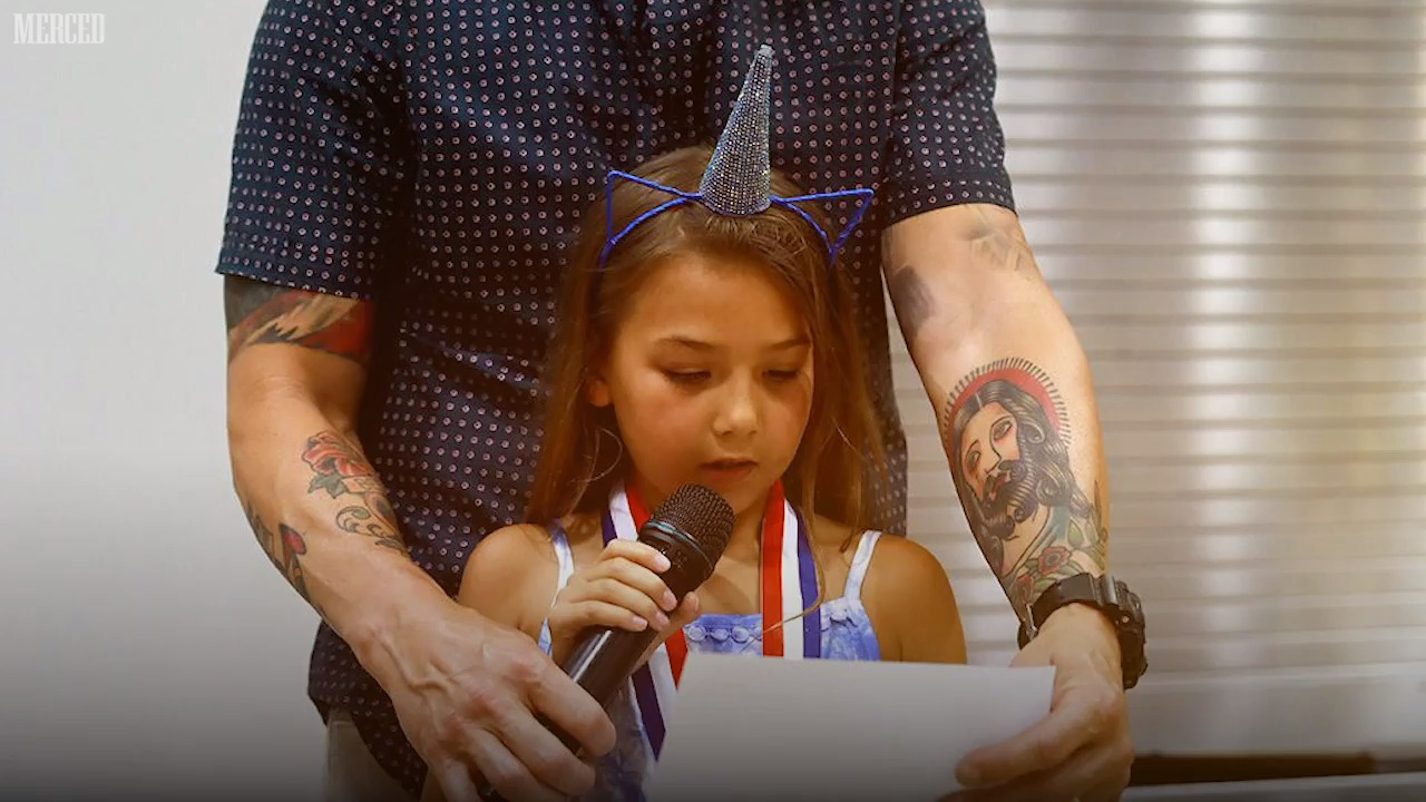 He's Father of the Year in Merced. His daughter's essay will melt your cold heart