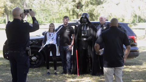 Merced Police Department celebrates May the Fourth