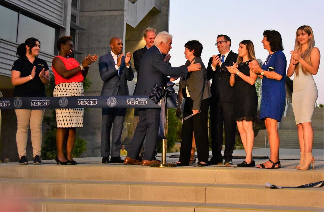2020 Project: UC Merced celebrates opening of two new campus research buildings
