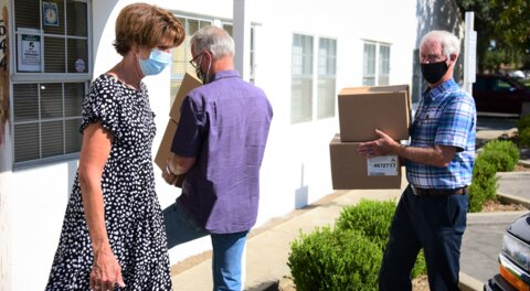 Merced church, groups help donate nearly 8,000 masks to protect homeless from COVID-19