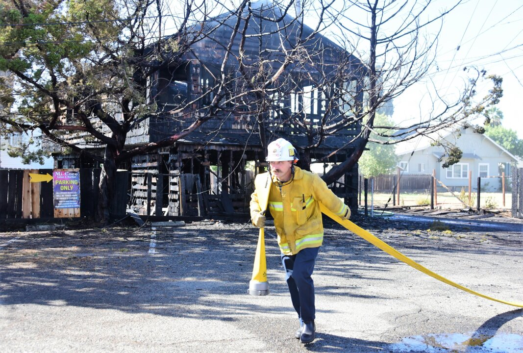 Merced fourplex apartment complex destroyed by fire | The