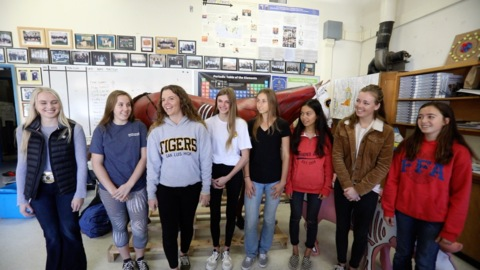 'It's so much more' than farming. SLO High students are national FFA champs