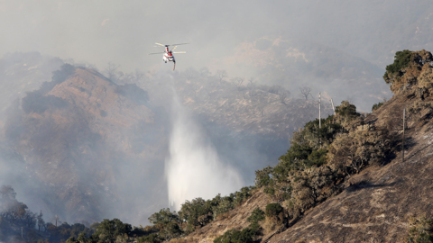 Evacuations ordered as Lopez Lake fire grows to 250 acres
