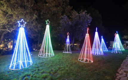 See the holiday spirit shine at SLO's 'Light Up Downtown'