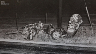 See heartbreaking photos from the crash that killed James Dean in SLO County