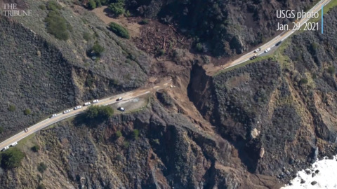 Rebuilding Highway 1: See the repair work at the Rat Creek slide in Big Sur