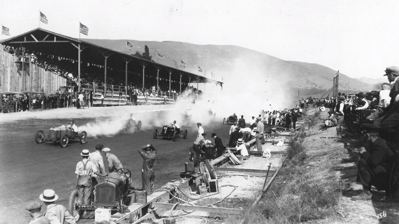 Horses and cars used to race in San Luis Obispo. Why did they stop?