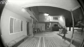 Peeper caught on camera outside San Luis Obispo apartment