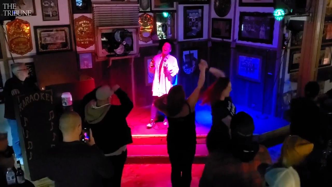 Pop star Pink visits Paso Robles speakeasy — and sings karaoke at a saloon