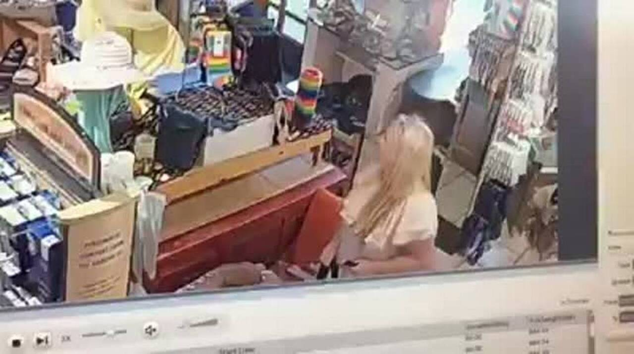 f88a0b78d8cd Woman caught on video stealing UGG boots from SLO store