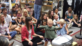 Kids dance and sing along at weekly Boo Boo Records concerts