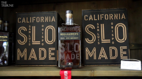 A new distillery is open at SLO Brew Rock. It's going for an 'ocean and cowboy' theme