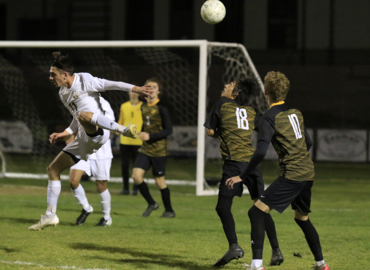 Watch action from AG and SLO's double-OT playoff soccer match