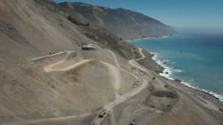 Soar over the Mud Creek Slide in Big Sur weeks before Highway 1 reopens