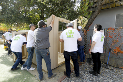 Paso Children's Museum gets a new playhouse with help from Justin Winery