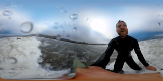 Catch a wave in Pismo Beach in this 360 video