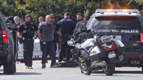 Atascadero man arrested after SLO police chase ends in head-on crash