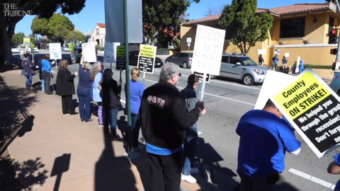 The third day of the San Luis Obispo County strike will be the last of this action, pending new negotiations.