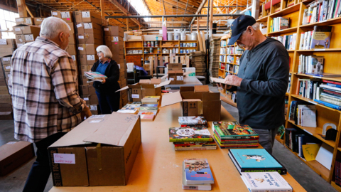 Love to read? Huge SLO book sale will offer great deals on 24,000 titles