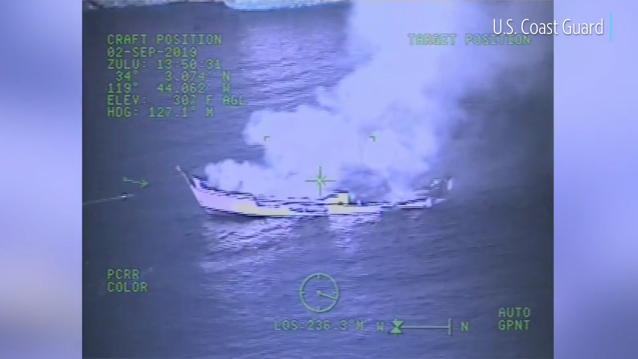 Only 1 person remains missing from dive boat fire | Fort