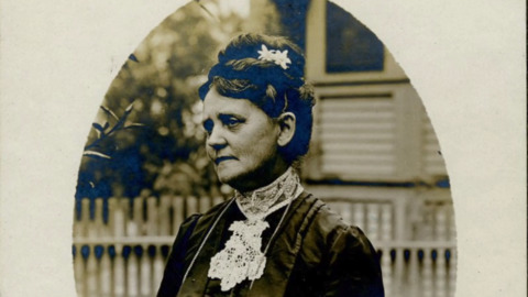 San Luis Obispo's first librarian gets a grave marker — 109 years after her death