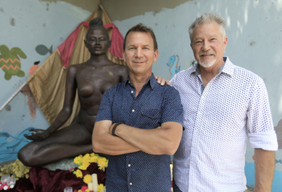 MindBody co-founder quits company — to sell 7-foot statues of a naked woman in a yoga pose