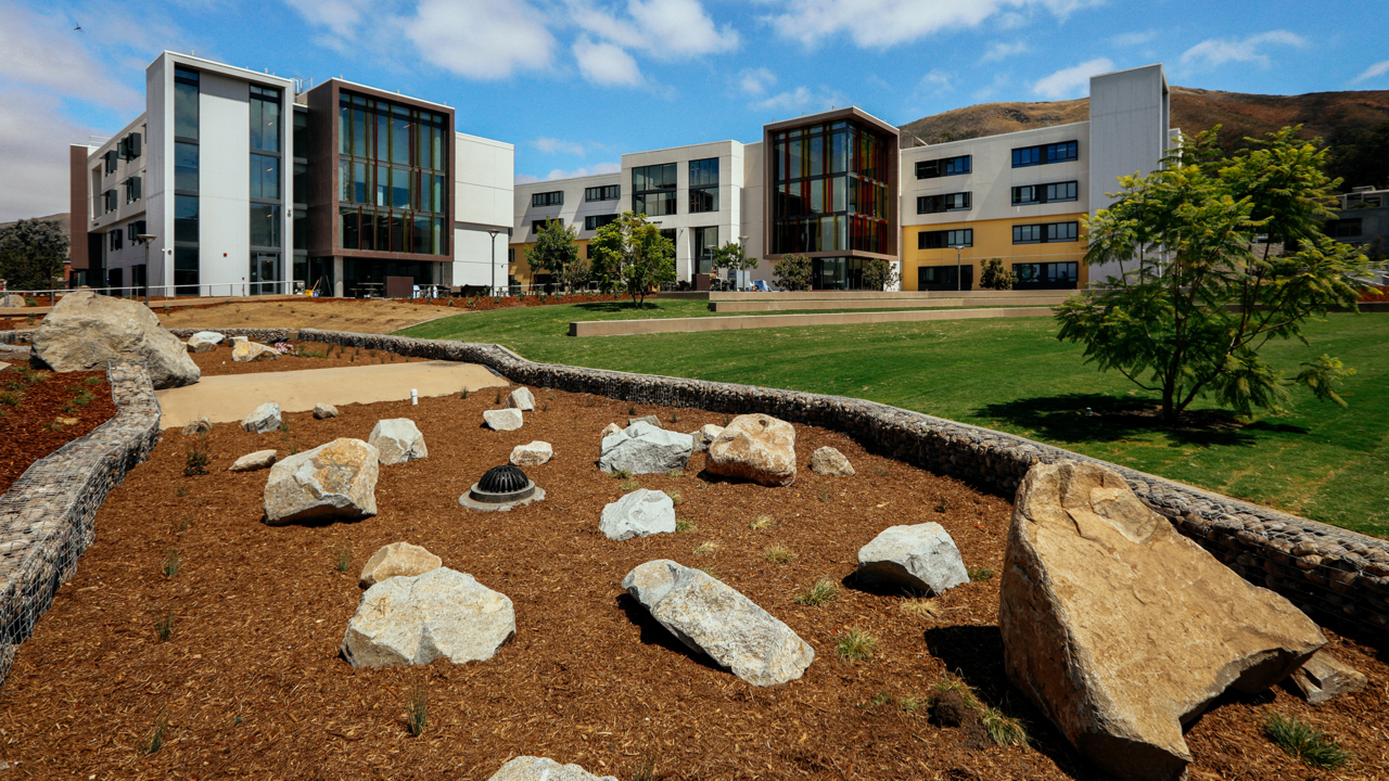 Cal Poly S 198 Million Housing Complex Nearly Ready For Students San Luis Obispo Tribune