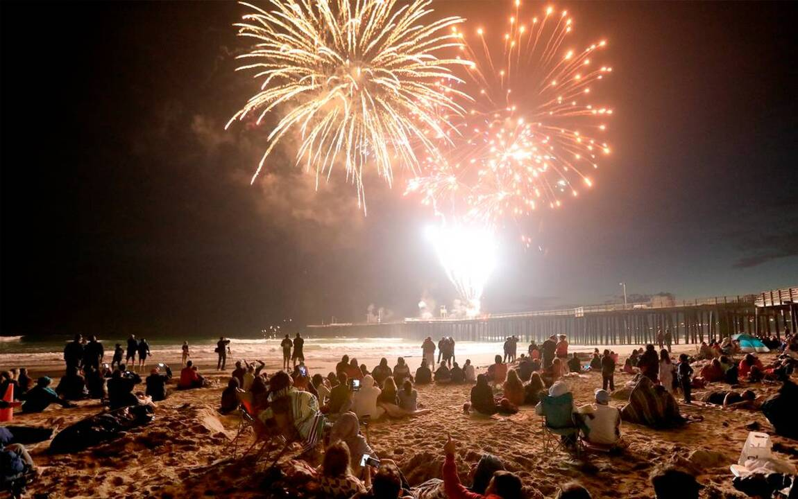 Cambria's fireworks show was running out of money. Then these community members stepped in
