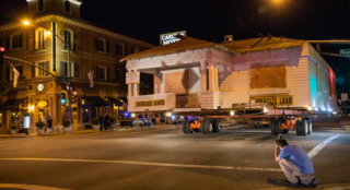 Watch 103-year-old colony house get moved across Atascadero