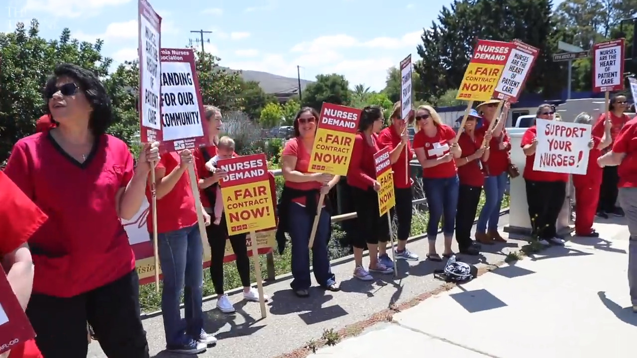 500 nurses in SLO County will go on strike this week. Here's what you need to know