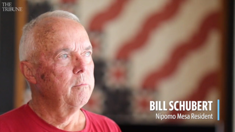 Bill Schubert has lung cancer, and he believes air pollution is to blame