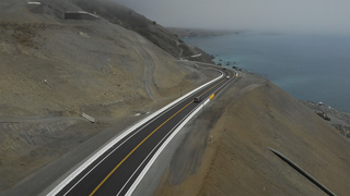 Watch the first cars drive Highway 1 across the Mud Creek Slide