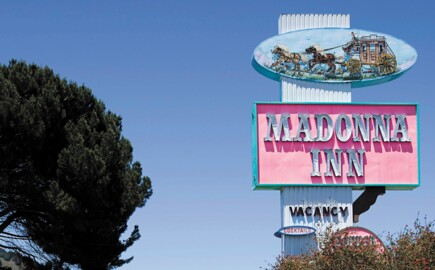 See why San Luis Obispo's Madonna Inn is the pinkest place in California