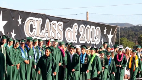 Watch Templeton High School's class of 2019 graduation ceremony
