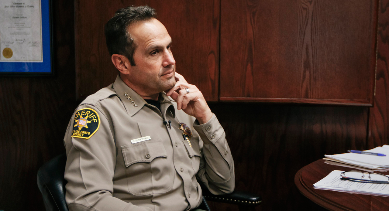 SLO County sheriff rejects calls for his resignation in interview on jail death