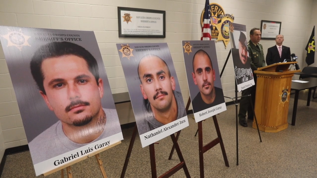 3 men arrested in deadly gang-related shooting in Oceano, SLO sheriff says