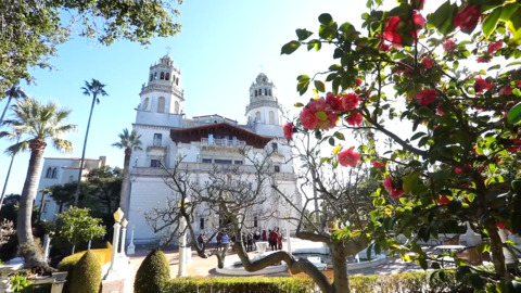 The groundskeepers behind the Hearst Castle gardens