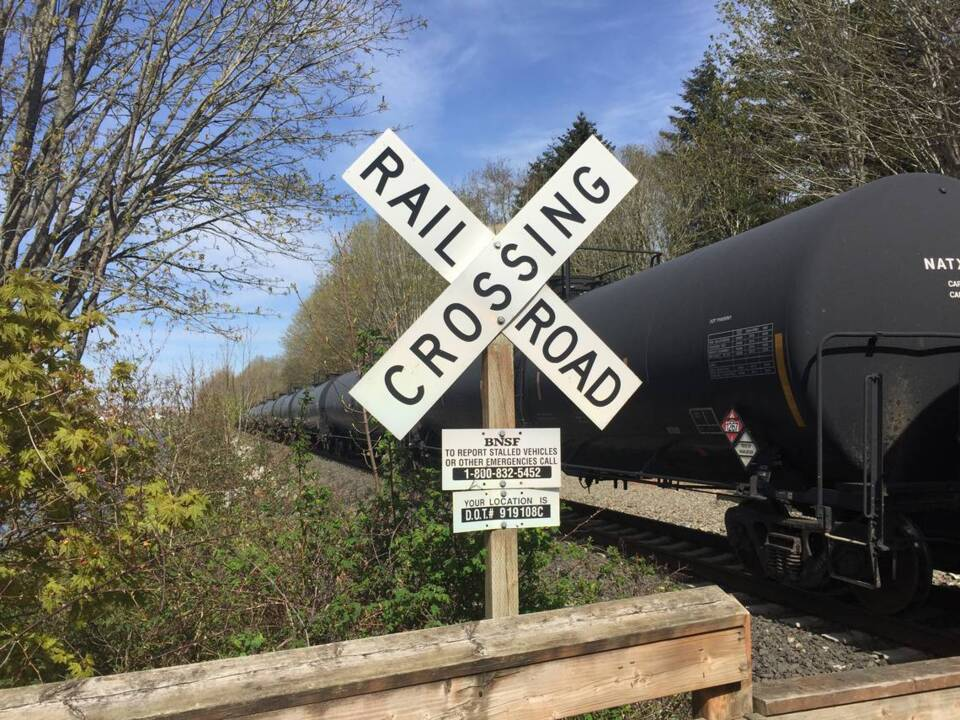 Here's why two trains had unexpected stops in Bellingham early Monday