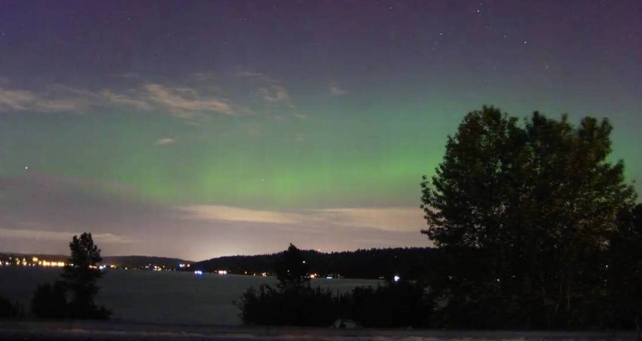 The northern lights might be visible tonight. Here's how to see them in Whatcom
