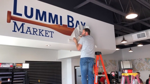 Lummi Nation set to open what they believe will be a retail hub near the ferry