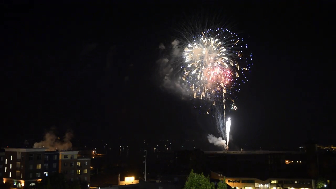 Bellingham Celebrates Independence Day With Fireworks The