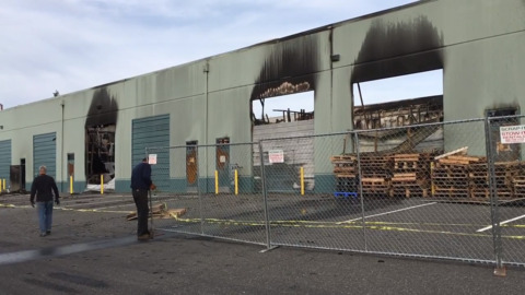 Bellingham manufacturing facility quickly bounces back from devastating arson fire