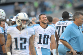 Jake Locker talks about his NFL career, football camp in 2013 interview