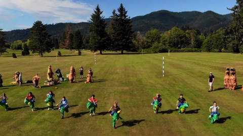 T-rex, stegosaurus and velociraptor racers run for a good cause in Sudden Valley