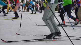 What's it like to compete in the Ski to Sea Race? Just watch this