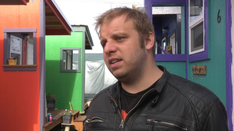City bars new residents at tiny home camp during HomesNOW! misconduct investigation