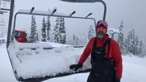 It's snowing like crazy in the mountains. Here's when Mt. Baker will open.