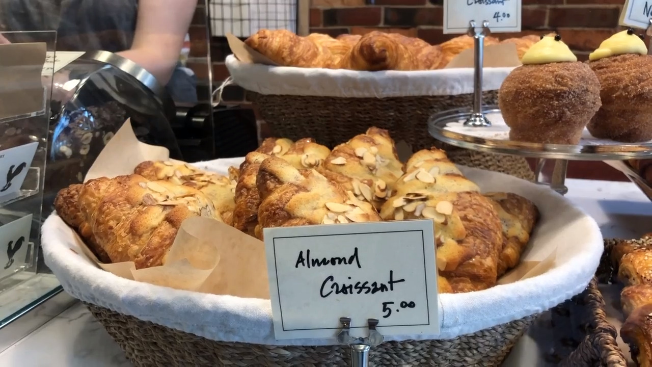 Look no further for traditional, flaky, buttery croissants than this Fairhaven bakery