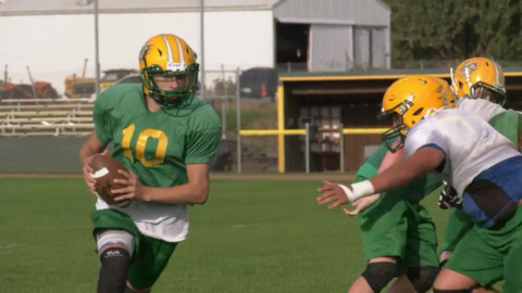 What makes high school football in Whatcom County unique?